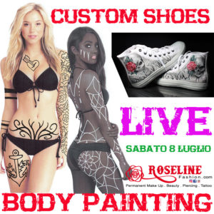Evento Body Painting c/o Basic Storm Treviso